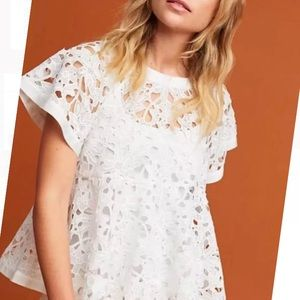 Anthropology Remy Swing Lace Top NWT 🌸🌸